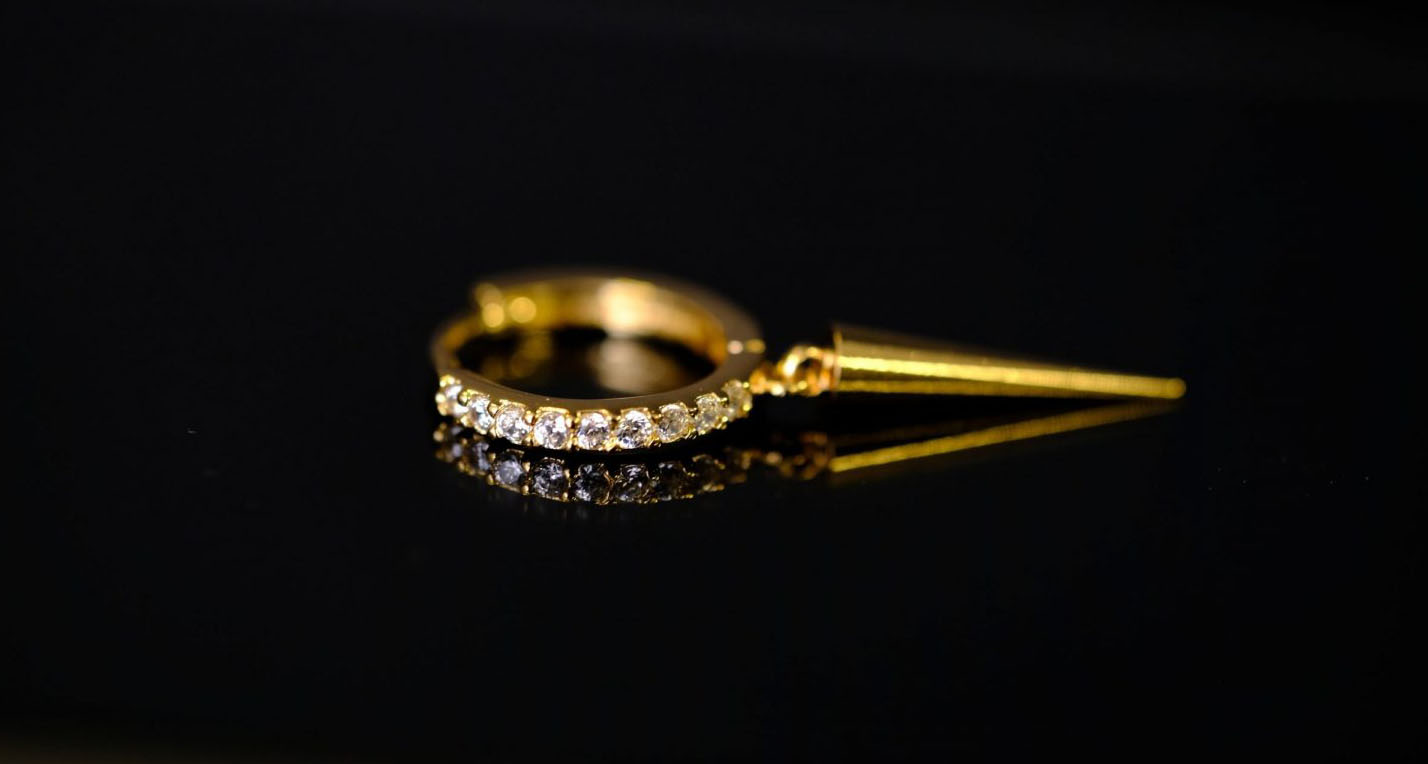 14k Gold Piercing - Bella Andrea - Piercing Jewellery