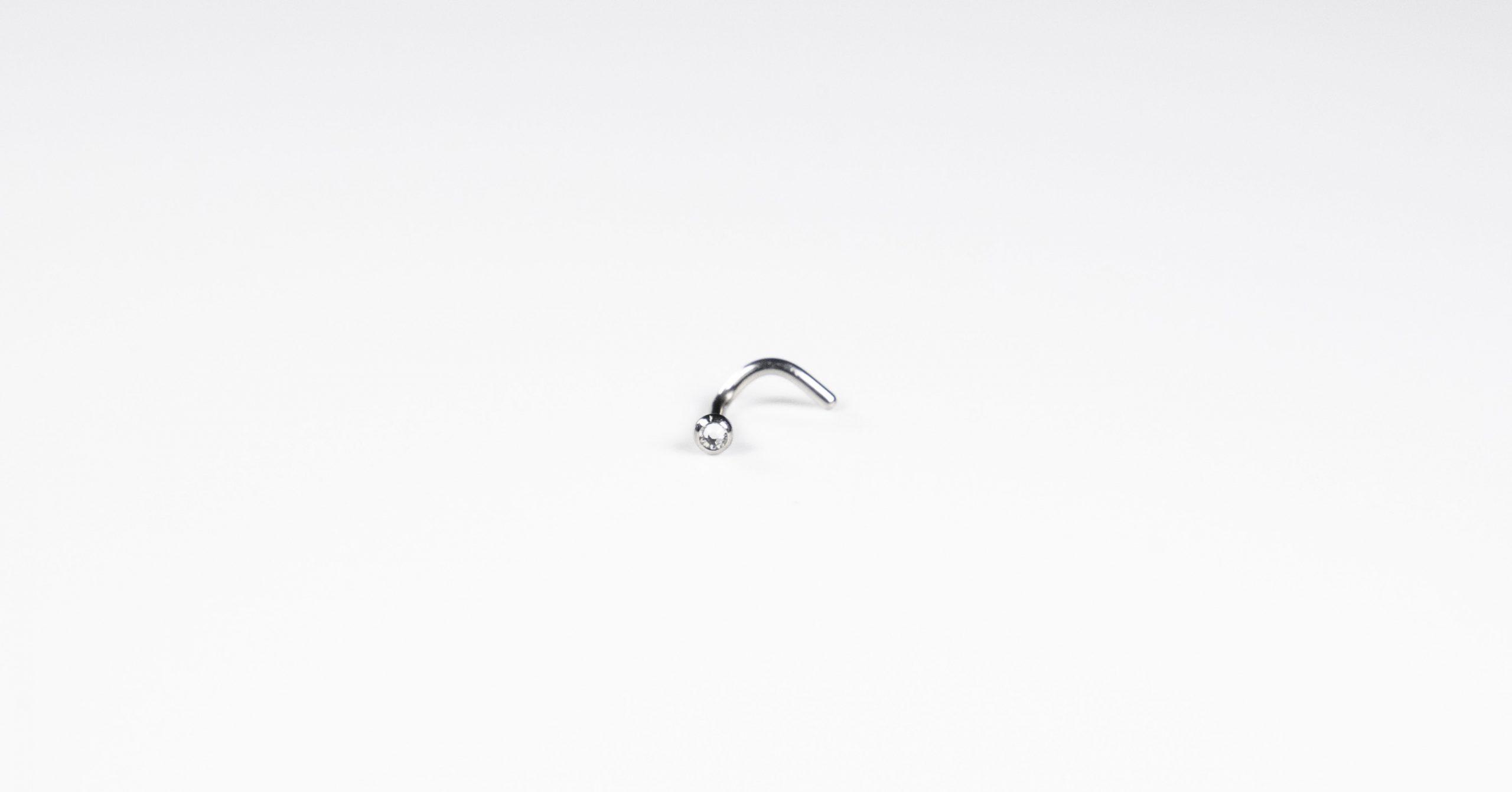 Jewelled Nose Stud - Bella Andrea London (1)